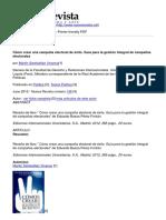 Nueva Revista - Como Crear Una Campana Electoral de Exito. Guia Para La Gestion Integral de Campanas Electorales