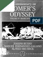 Commentary on Homer's Odyssey Vol. III Books XVII-XXIV