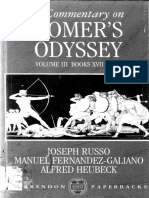 Commentary on Homer's Odyssey Vol. III Books XVII-XXIV