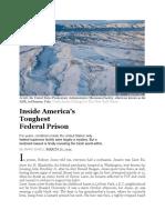 1 Inside America's Tougest Federal Prison