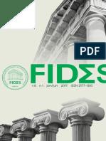 15ed Revista FIDES