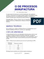 Diseño de Procesos de Manufactura