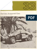 AFV Profile 033 - German Armoured Cars