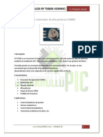 Hoja Técnica_Módulos RF 433MHz