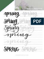 Spring Practice Sheet