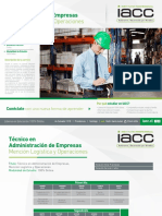 Técnico en Administración de Empresas - Mención Logística y Operaciones