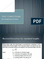 Tape Corrections 2