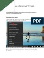 Como Deixar o Windows 10 Mais Rápido Em Computadores Antigos