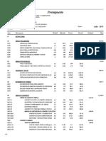 02.01 Presupuesto Estructuras
