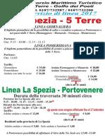 La Spezia Dal 15 Aprile Al 1 Ottobre Italiano