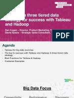 BRK53935 PPT Applying a Three Tiered Hadoop