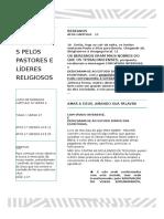 Versículos Escondidos Pelos Pastores e Líderes Religiosos