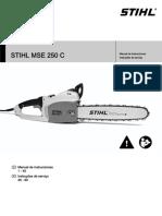 STIHL MSE 250 C