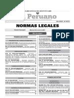 Normas Legales El Peruano