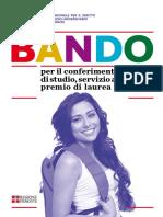 Bando Borsa Abitativo Premio 2017 2018