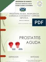 la doxiciclina no funcionó para la prostatitis