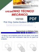 DESENHO TECNICO MECANICO Aula2 Vistas