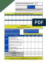 Formato Calificacion Individual Del Estudiante