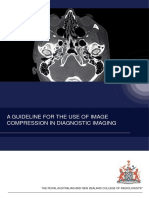 A GUIDELINE FOR THE USE OF IMAGE COMPRESSION IN DIAGNOSTIC IMAGING