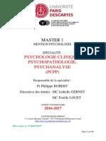 Brochure M1 PCPP 2017