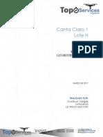 Informe de Georreferenciacion y Topografia