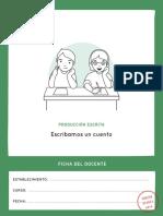 Escritura Cuento Ficha-docente