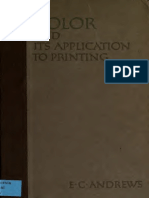 Color and Its Application to Printing 1911