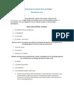 Unidad II Sociologia - Relcion de La Sociologia Con Otras Ciencias.