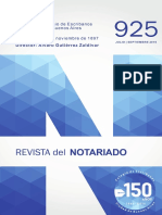 Revista Del Notariado 925
