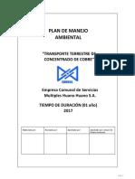 Plan de Manejo Ambiental Transporte2017-V4