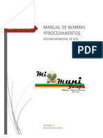 Manual de Procedimientos Del Iusi 1 0