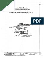 Lancair IV-P Build Manual