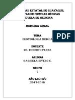 deontología médica