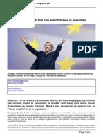 La France et le Populisme