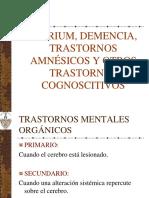 7.Delirium, Demencia, Trastornos Amnésicos