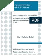 Ética y Marketing Digital