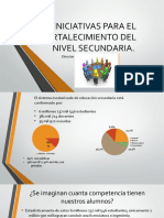 INICIATIVAS PARA EL FORTALECIMIENTO DEL NIVEL SECUNDARIA.odp