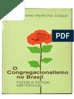 O Congregacionalismo No Brasil - Salustiano Pereira Cesar.pdf