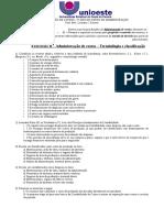 Exercícios Sobre Terminologias de gestão de custos III