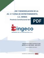 Inspección de Estructura Metálica en 2do - Sector 1; Nivel Entretenimiento 07.08.17