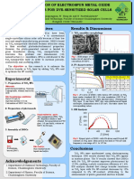 Poster Solar cell Project