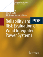 (Reliable and Sustainable Electric Power and Energy Systems Management) Brandon Heath, Charles Tyson, John Lawhorn (Auth.), Roy Billinton, Rajesh Karki, Ajit Kumar Verma (Eds.)-Reliability and Risk Ev