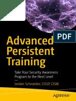 Advanced Persistent Training