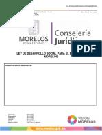 Ley de Desarrollo Social Para El Estado de Morelos