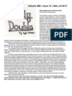 Daily Double, Volume 48B, Issue 14