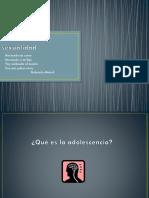 Adolescencia y Sexualidad ppt informativo