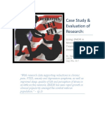 Case Study and Research on EMDR for Combat PTSD