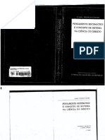 Claus - Wilhelm Canaris - Pensamento Sistemático e Conceito de Sistema Na Ciência Do Direito
