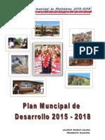 PLAN MUNICIPAL METLATÓNOC 2016 - 2018