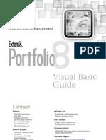 Portfolio 8 Visual Basic Guide